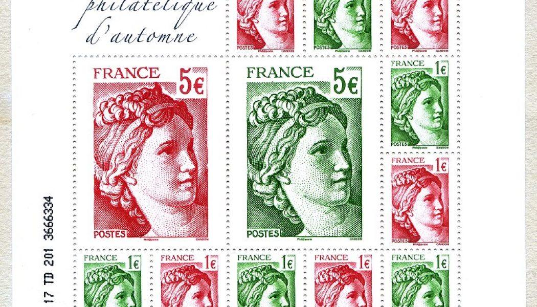 La Sabine de Gandon fête ses 40 ans au salon philatélique d'automne 2017