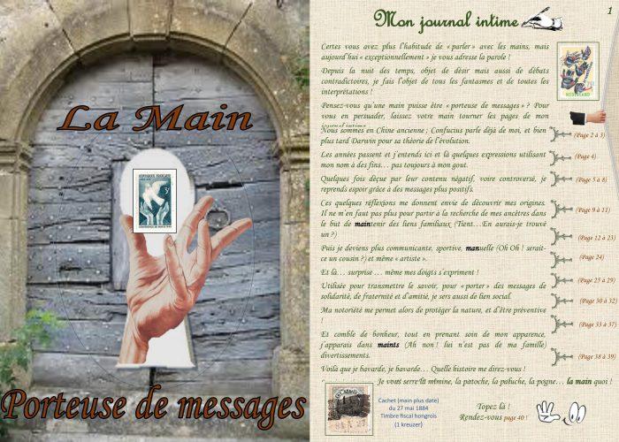 La Main Porteuse de Messages par Gérard Barrat