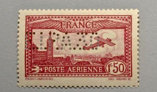 Les timbres perforés ou les bannis de la philatélie