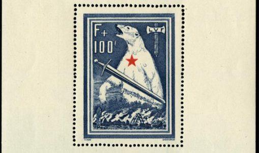 Les fins de catalogue en philatélie : la Légion des Volontaires Français  (L. V. F.)