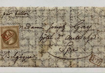 Histoire d'une lettre