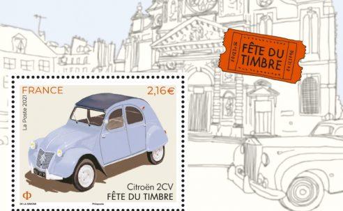 Fête du timbre 2021 à Rueil-Malmaison les 25 et 26 septembre